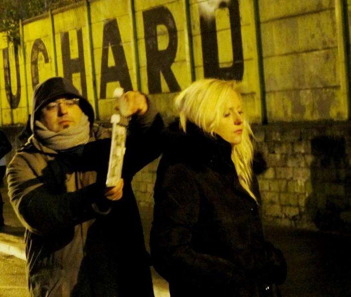 « Nuit Noire » Moyen Métrage de Quarxx Art,  rôle: lliana