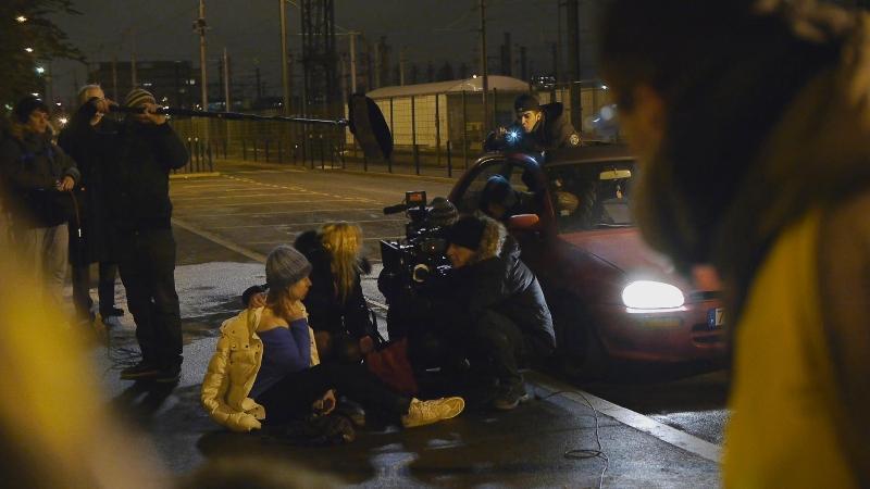 Nuit Noire  Moyen Métrage de Quarxx Art,  rôle: lliana