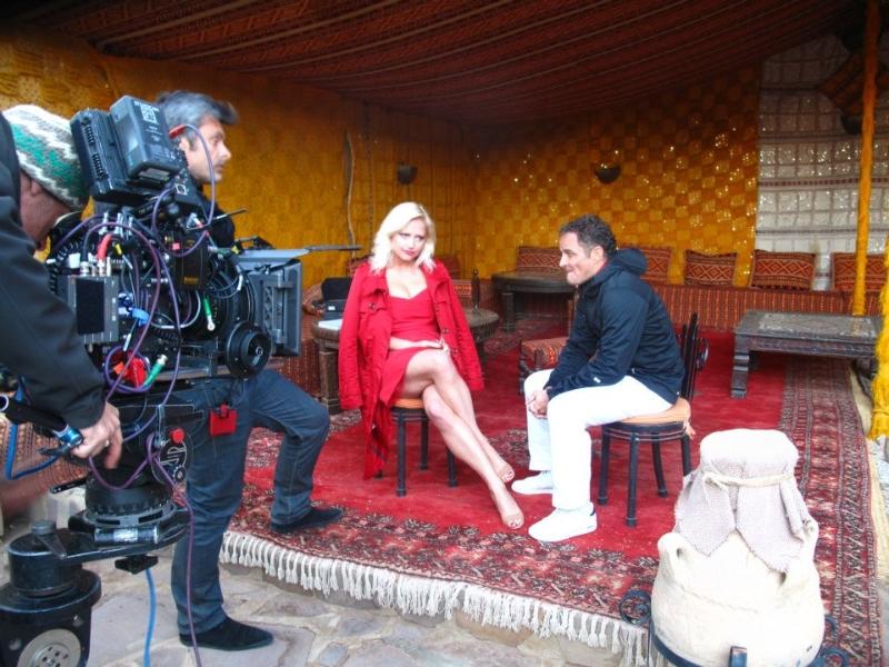Une Bonne Leçon» Téléfilm - TF1 - Bruno Garcia, rôle: une touriste scandinave