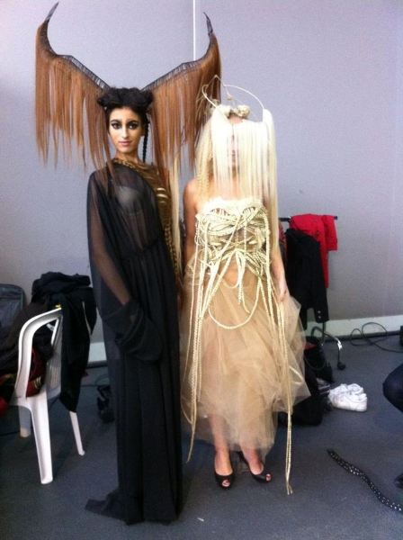 Mannequin pour Show Coiffure Schwarzkopf pour Wilfrid Karloff