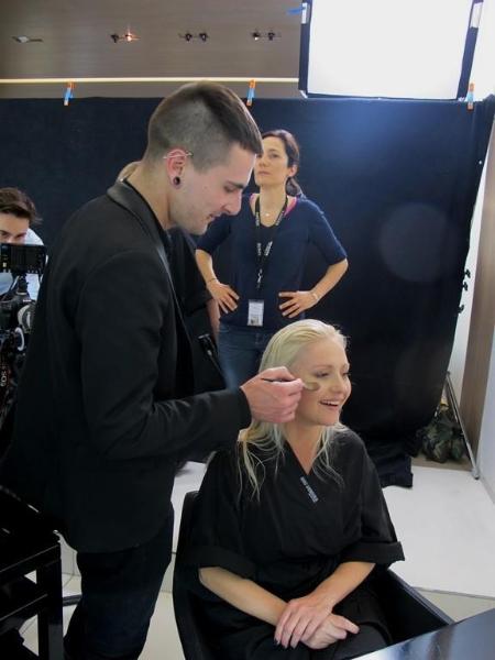 Mannequin pour Shu Uemura Art of Hair  L'Oréal Paris