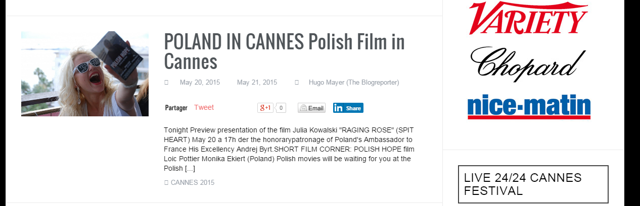 POLAND in CANNEs